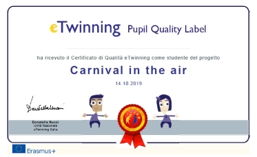 quality label 1^B primaria piccolo